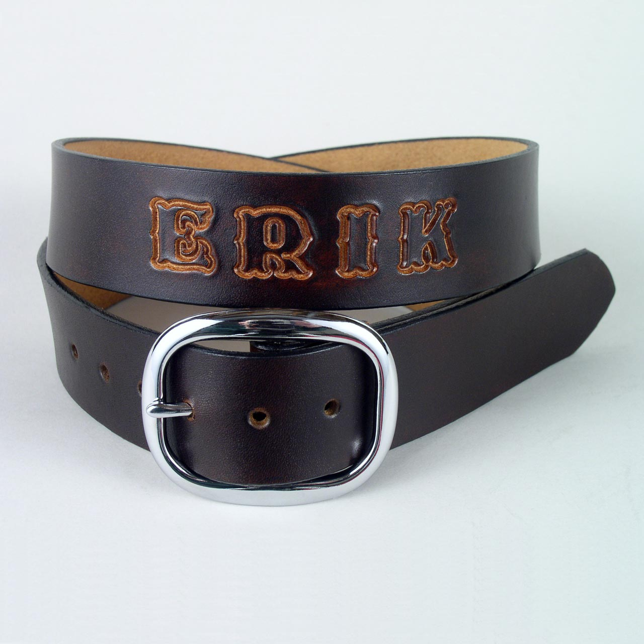 personalized belt gift